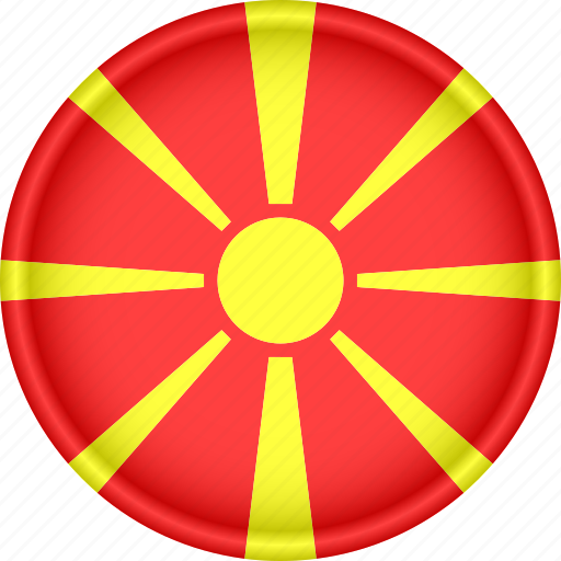Attribute, country, europe, european, flag, macedonia, national icon - Download on Iconfinder