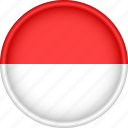 attribute, country, europe, european, flag, monaco, national icon