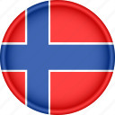 attribute, country, europe, european, flag, national, norway