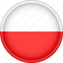 attribute, country, europe, european, flag, national, poland icon