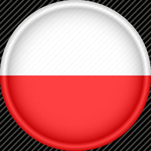 attribute, country, europe, european, flag, national, poland icon