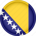 attribute, bosnia and herzegovina, country, europe, european, flag, national