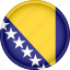 attribute, bosnia and herzegovina, country, europe, european, flag, national icon