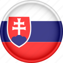 attribute, country, europe, european, flag, national, slovakia