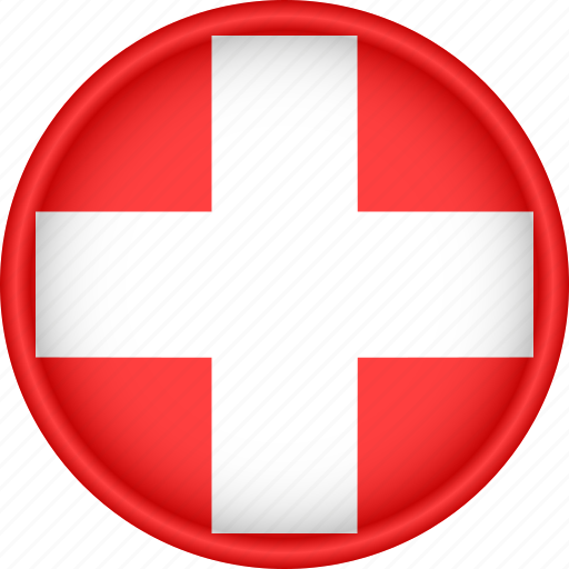 attribute, country, europe, european, flag, national, switzerland icon