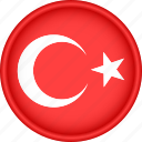 attribute, country, europe, european, flag, national, turkey