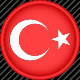 attribute, country, europe, european, flag, national, turkey icon