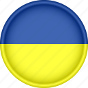 attribute, country, europe, european, flag, national, ukraine