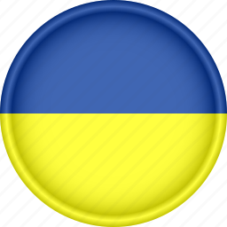 attribute, country, europe, european, flag, national, ukraine icon