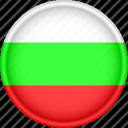 attribute, bulgaria, country, europe, european, flag, national icon