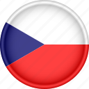 attribute, country, czech republic, europe, european, flag, national icon