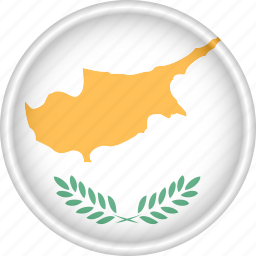 attribute, country, cyprus, europe, european, flag, national icon