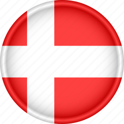 attribute, country, denmark, europe, european, flag, national icon