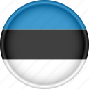 attribute, country, estonia, europe, european, flag, national icon