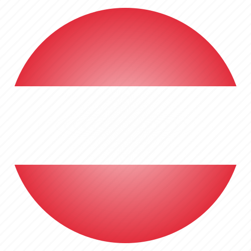 austria, austrian, country, european, flag, national icon