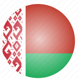 belarus, country, european, flag, national icon