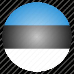 country, estonia, estonian, european, flag, national icon