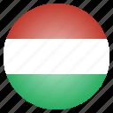 country, flag, hungarian, hungary, national, european