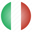 country, european, flag, italian, italy, national icon