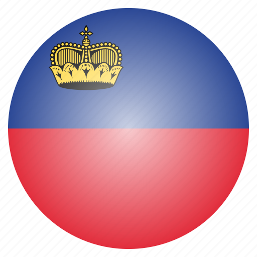 country, european, flag, liechtenstein, national icon