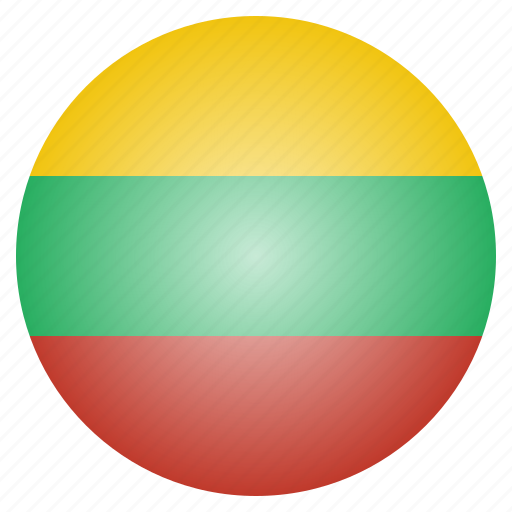 country, european, flag, lithuania, lithuanian, national icon