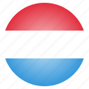 country, flag, luxembourg, national, european