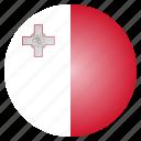 country, flag, malta, national, european