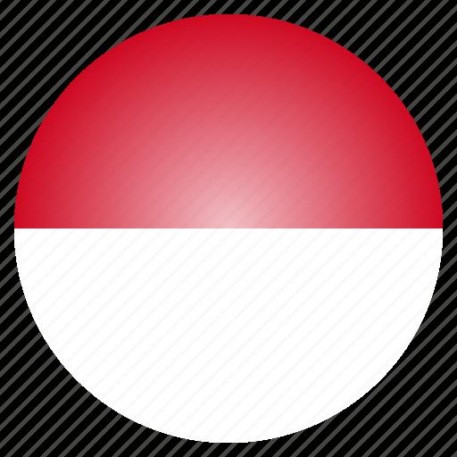 country, european, flag, monaco, national icon