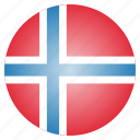 country, european, flag, national, norway, norwegian icon