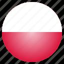 country, flag, national, poland, polish, european