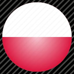 country, european, flag, national, poland, polish icon