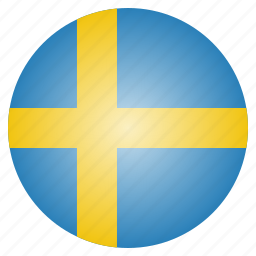 country, european, flag, national, sweden, swedish icon