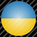country, flag, national, ukraine, european