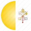 country, flag, pope, vatican, european