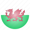 country, flag, national, wales, european