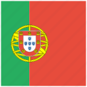 country, flag, portugese, portugal