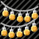 ball, decoration, decorative, disco, light, lights, mirror icon