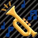 brass, instrument, jazz, music, musical, trumpet