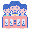 clock, count, stopwatch, timer icon