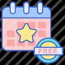 calendar, event, free, schedule
