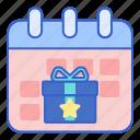 calendar, event, incentive, schedule icon