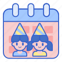 calendar, event, kids, party