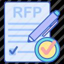 document, paper, pen, rfp