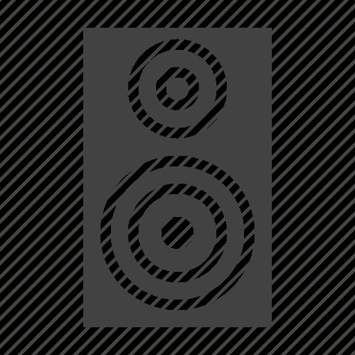 audio, equipment, music, speaker icon
