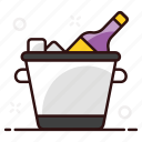 alcoholic beverage, wine, chilled, alcoholic drink, wine bottle, champagne, chilled wine icon