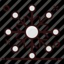 christmas snowflake, crystal snowflake, ice flake, snowdrift, snowflake icon