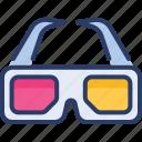 cinema, eye, glasses, movie, vision, vr