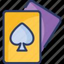 card, casino, club, game, poker, spades, win