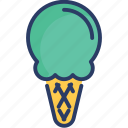 cold, cone, dessert, food, frozen, ice cream, sweet