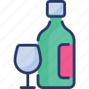 dinner, drink, glass, romantic, summer, vine, wine
